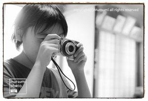 卒業制作と家族撮影