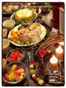 クリスマス・イヴ【我が家の食卓】
