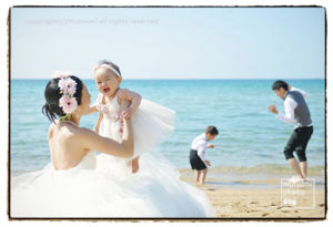 結婚5周年記念フォト【家族写真】