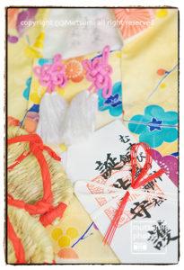 飯盛神社 お餅踏み撮影【1歳記念】