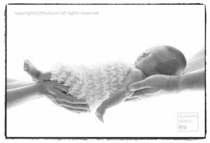 生後8日目 新生児フォト