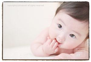 生後4ヶ月【ベビーフォト】