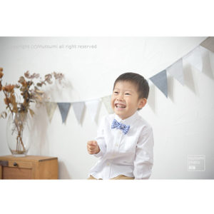 ハーフバースデー&4歳記念フォト【アトリエ】