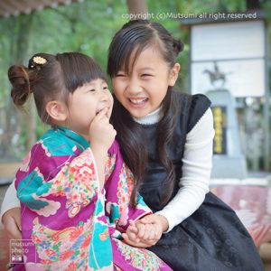 3歳のあるあるとお姉ちゃんの妹愛【七五三撮影】