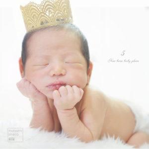 生後5日目 新生児フォト【出張撮影】