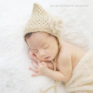 新生児フォトの小物のこと