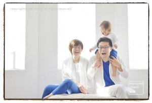 GW 福岡での記念に家族撮影